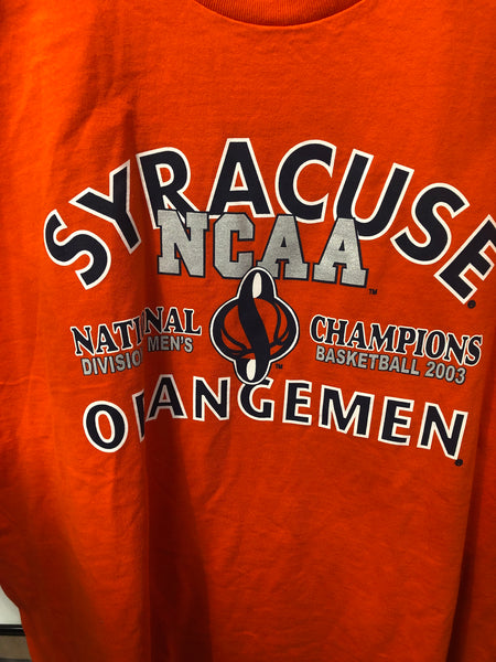 2003 NCAA Champs Syracuse University T Shirt