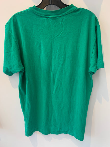 Vintage Kelly Green Boston Celtics T Shirt Fits a Small/Medium Made in USA