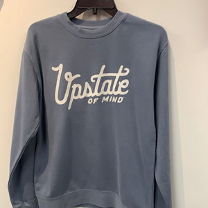 Compas Upstate of Mind Heritage Script Sweatshirt