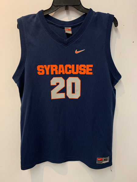Syracuse Nike Basketball Jersey Brandon Triche #20 Size Youth XL/Adult S.