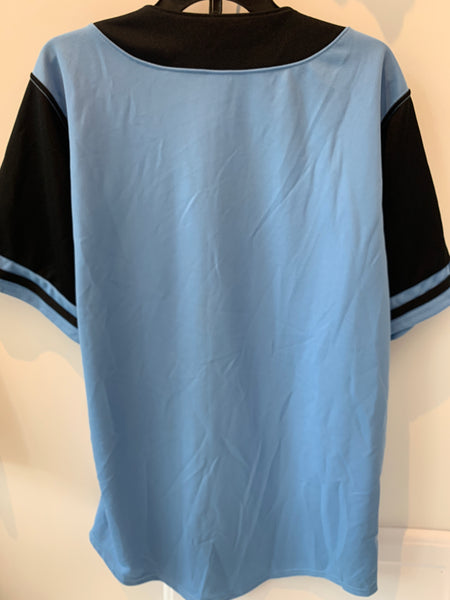 Syracuse Chiefs LIGHT BLUE BRAND NEW jersey, size 48 (fits like XL). MADE IN USA.