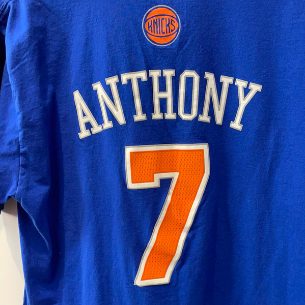 New York Knicks Carmelo Anthony Player T-Shirt