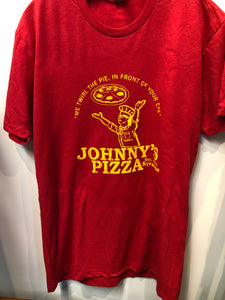 Mens Johnny's Pizza T Shirt