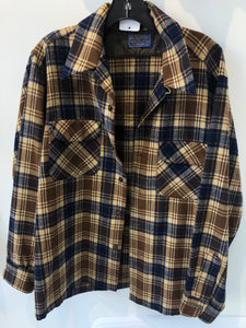 Vintage Wool Pendleton Shirt Jacket Medium/Large Made in USA