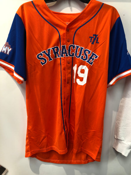 SGA Syracuse Mets Seventh Line Baseball Jersey