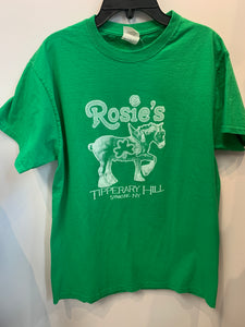St. Patrick's Day 2017 Rosie's T-Shirt,  size M.