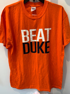 Beat Duke The Rivalry Begins T Shirt 2-01-14. TS38