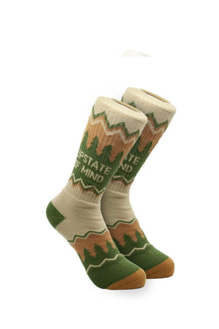 Upstate of Mind Socks