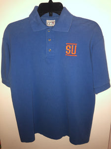 Vintage rare Royal Blue Syracuse University Polo Shirt Fits a Small/Medium