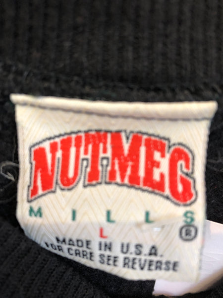 Vintage Nutmeg Black New York Giants Sweatshirt Fits like a Small Made in USA