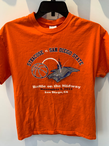 Double Sided. Syracuse Basketball vs. San Diego Battle of the Midway 11/9/12 San Diego, CA. TS19