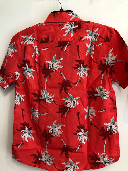 Le Cruz Palm Tree Hawaiian Shirt