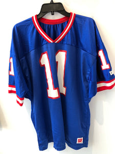 Vintage Wilson New York Giants Phil Simms #11 Jersey 2XL