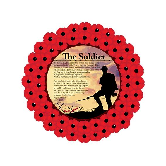 Poppy Wreath Poem The Soldier