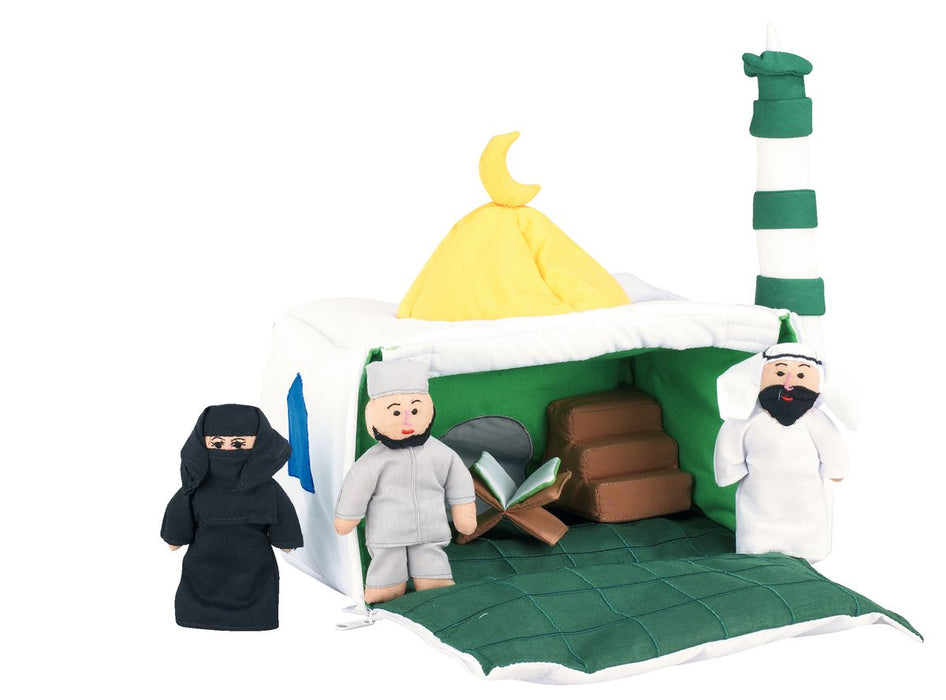 Mosque Soft Toy