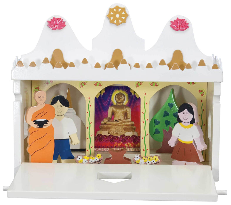 Buddhist Vihara in Wood