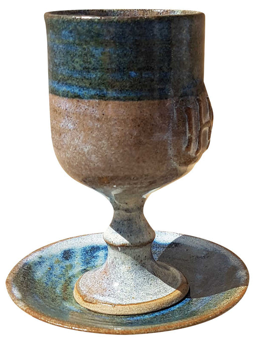 Chalice and Paten in Pottery