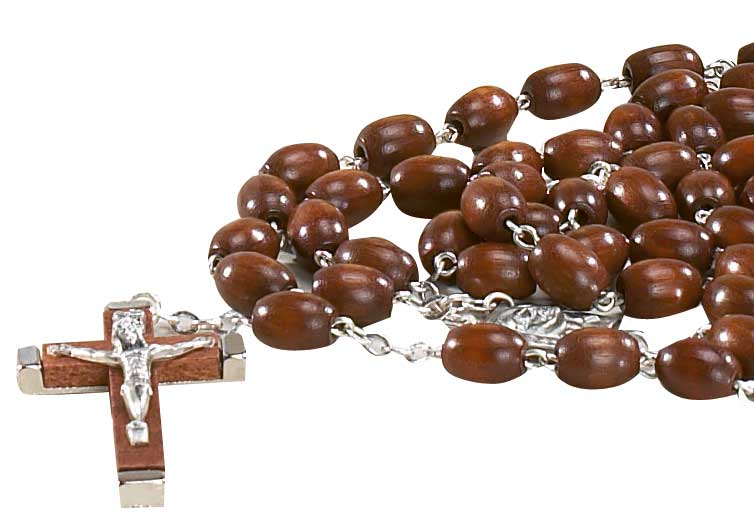 Olive Wood Rosary from Israel