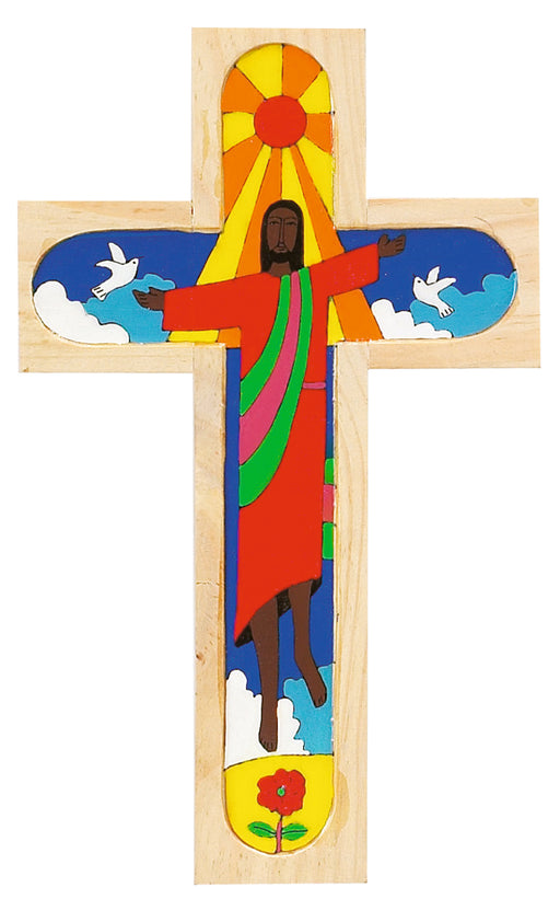 Risen Christ Salvadorean Cross