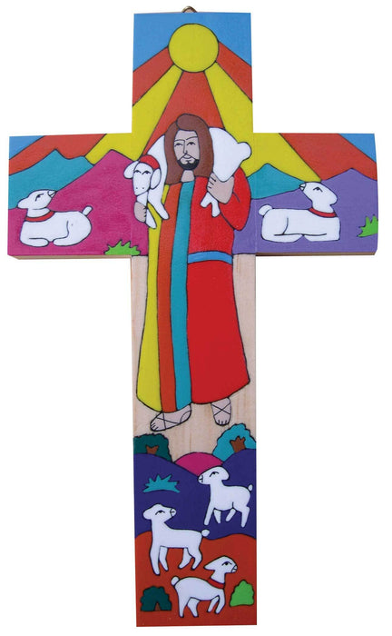 Good Shepherd Cross 25cm X 15cm