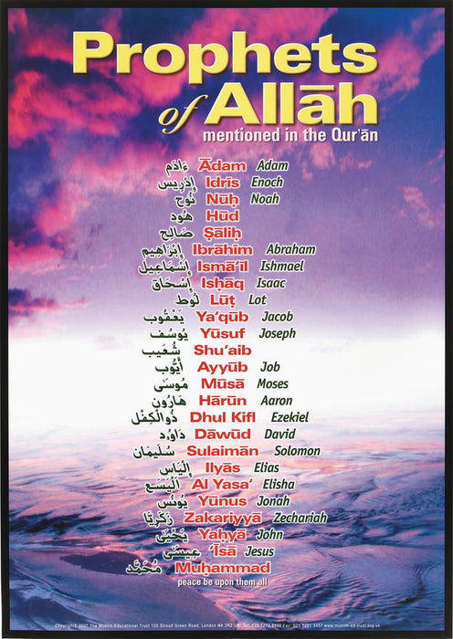 Prophets of Allah Poster