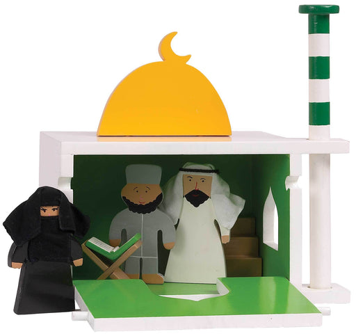 Mosque In Wood
