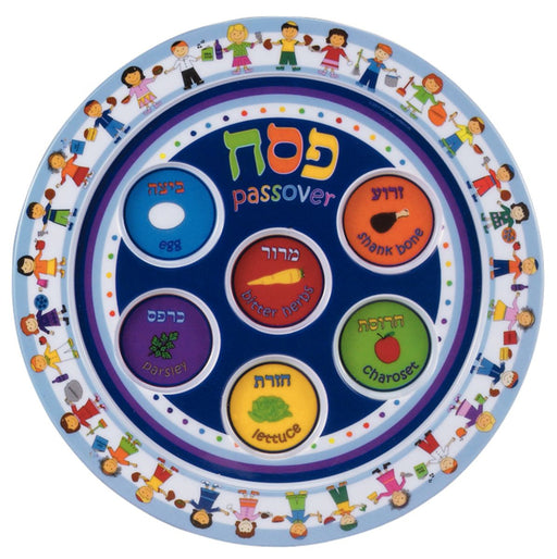 Childrens Seder Plate in Melamine