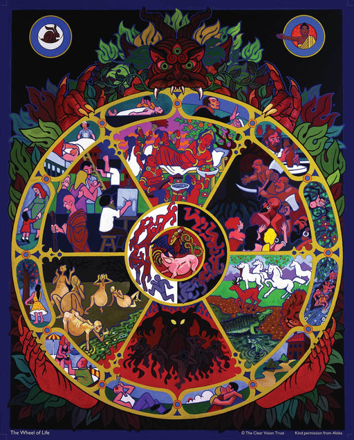 Wheel of Life Poster