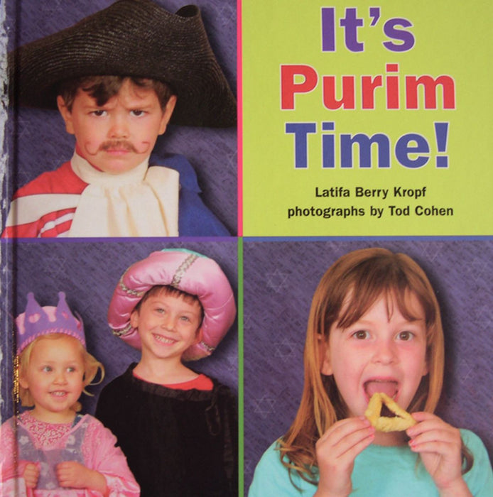 Its Purim Time Book