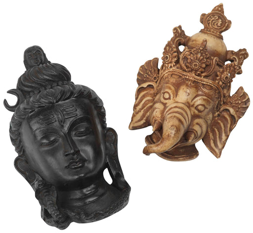 Set of 2 Hindu Masks