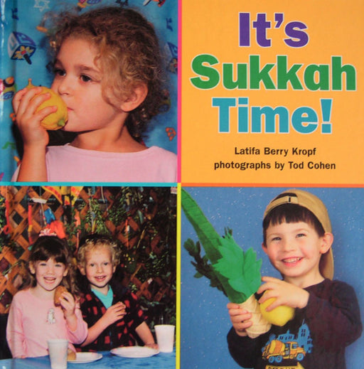 It's Sukkah Time Book