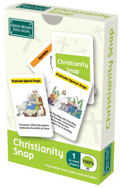 Christianity Snap Cards