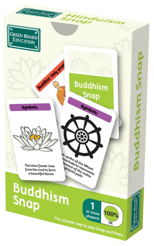 Buddhism Snap Cards