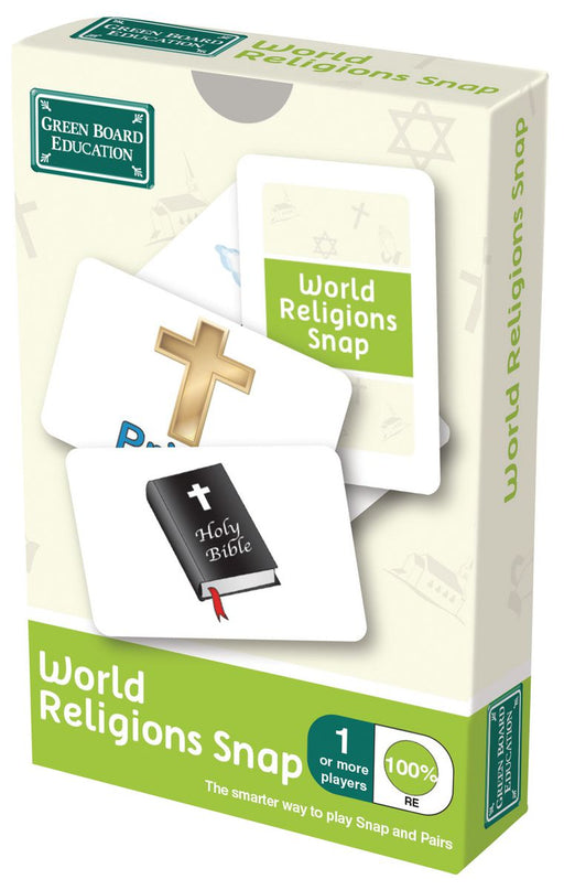 World Religions Snap Cards
