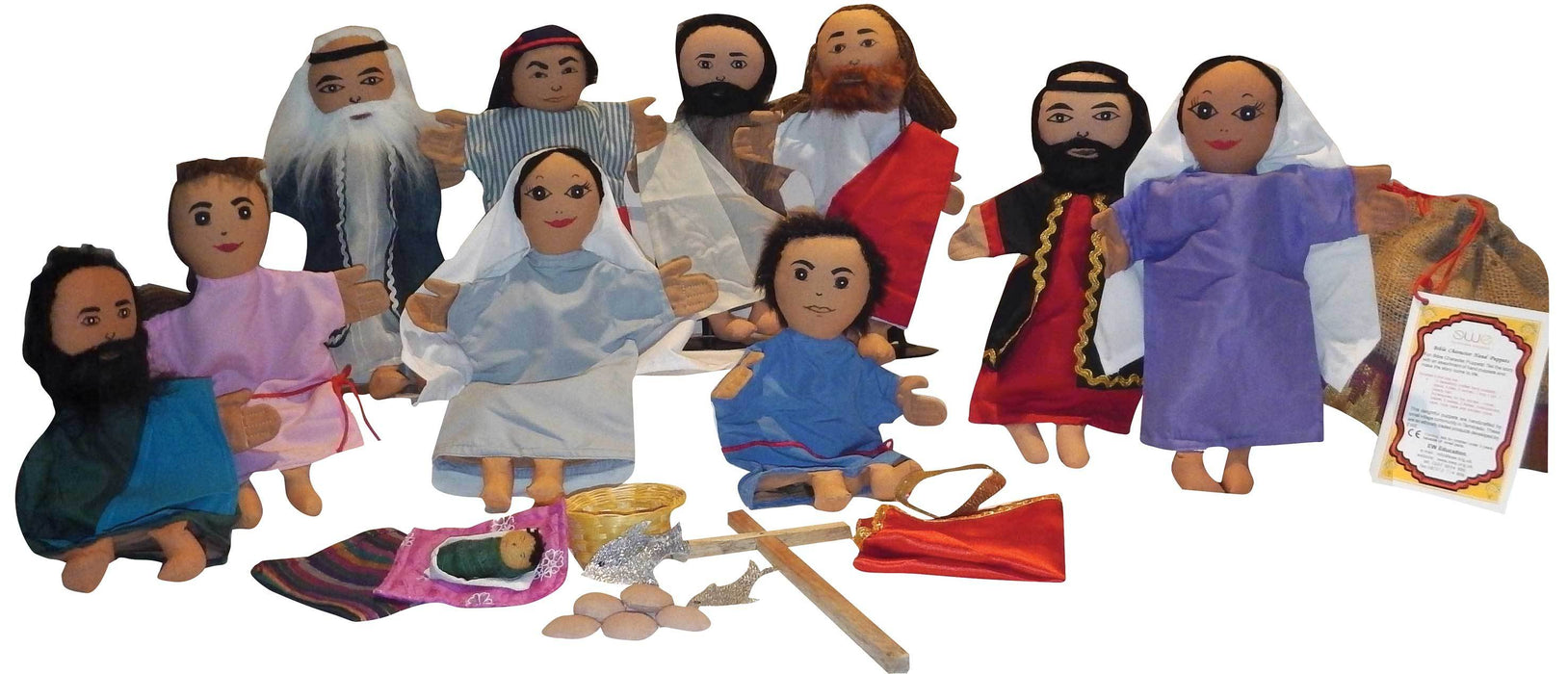 Bible Character Puppets