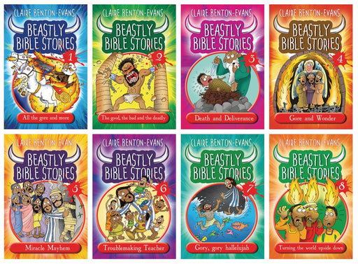 Beastly Bible Stories Set of 8 Books