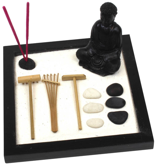 Large Garden Zen Set with Buddha