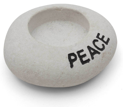 Peace Stone Tea-Light Holder