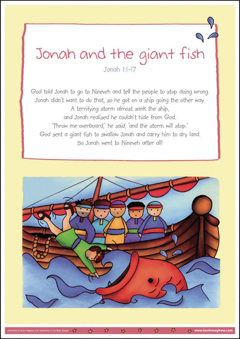 Bible Stories Poster Pack