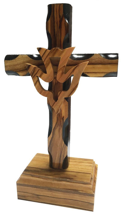 Cross with Holy Spirit