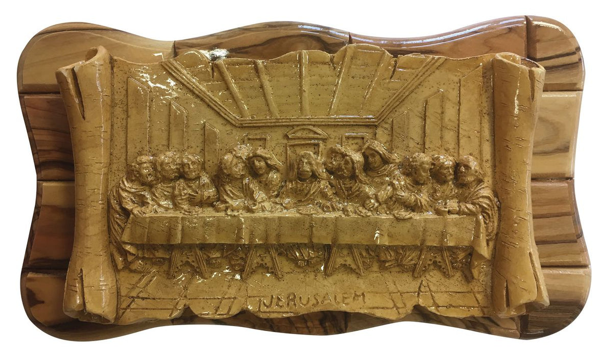 Last Supper Plaque from Bethlehem