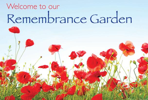 Remembrance Garden Sign