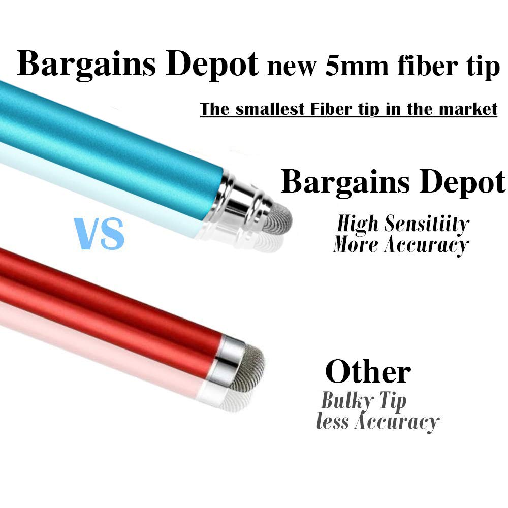 New 5mm High-Sensivity Fiber Tip Capacitive Stylus