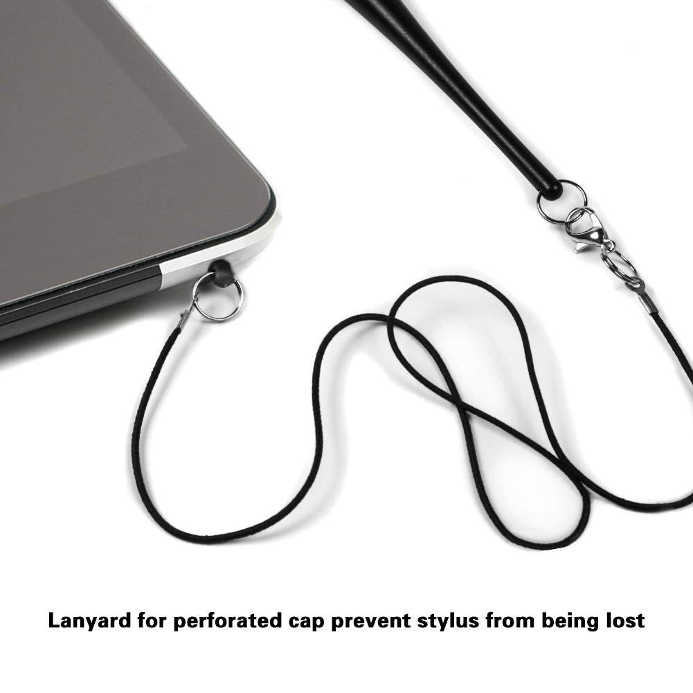 layard for perforated cap prevent stylus from being lost