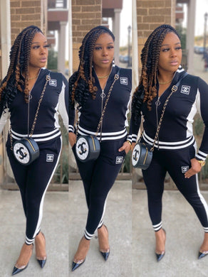 Chanel Inspired Tracksuit