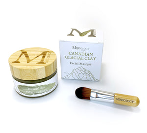hydrating face mask, Clay mask benefits, at home face mask glacial clay, Canadian glacial clay,