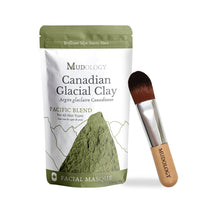 Load image into Gallery viewer, hydrating face mask, Clay mask benefits, at home face mask glacial clay, Canadian glacial clay,