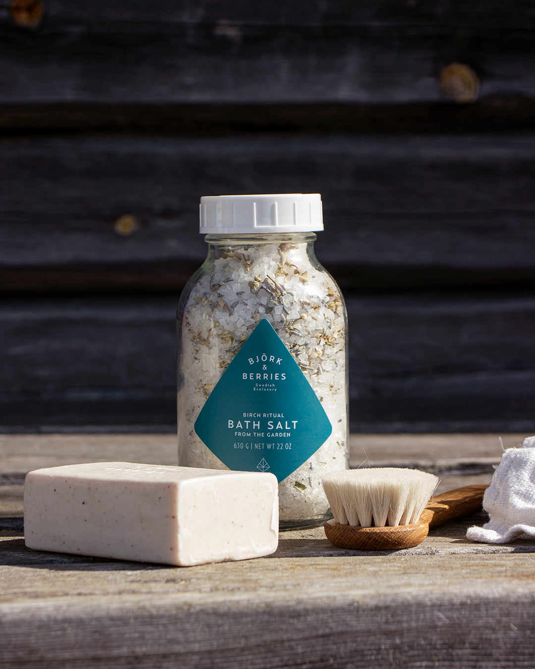 Soak in our Bath Salt from the garden