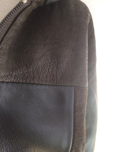 Boys Genuine Leather Jacket