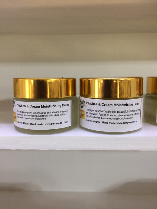 Peaches and Cream - Moisturising Balm - Small